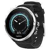 Suunto 9 Reloj Deportivo GPS con batería de Larga duración y medición del Ritmo cardiaco en la muñeca, Unisex-Adulto, Negro/Acero, Talla Única