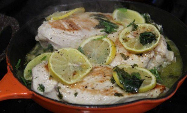 ¿Cómo hacer pechuga de pollo con limón? Receta 100% sana