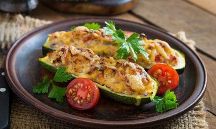 ¿Cómo hacer Calabacín Relleno de Pollo? ¡Receta deliciosa!