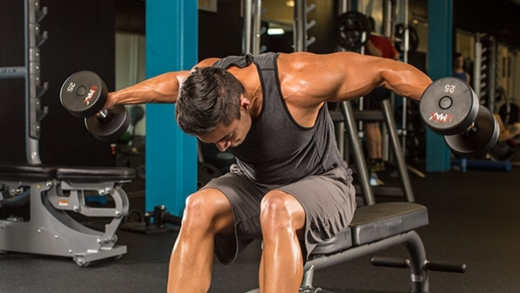 Los 3 Mejores ejercicios de Hombro para hacer en casa o gimnasio
